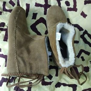 Lucky Brand Moccasin Booties